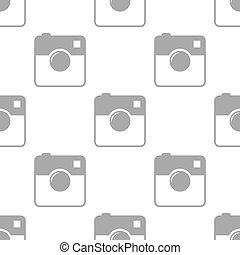 New Camera seamless pattern