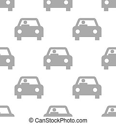 New Car seamless pattern