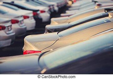 New Cars Dealer Stock