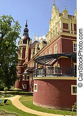 New castle in Bad Muskau