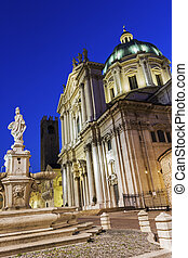 New Cathedral in Brescia in Italy