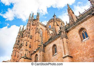 New Cathedral of Salamanca, Spain