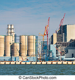 New Coal Power Plant Being Built - Building Activity at a...