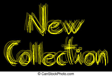 New collection - Creative design of new collection