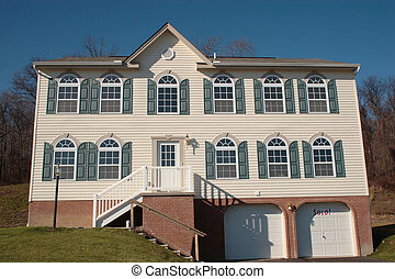 New Colonial Home