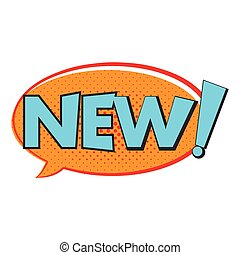 New comics icon