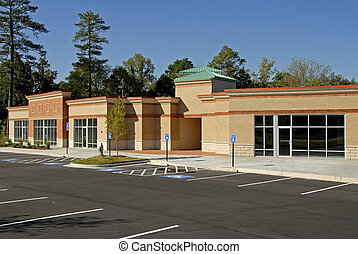 New Commercial Building - Newly constructed commercial ...