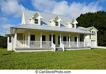 New constructed home for sale Florida, USA near the beach.