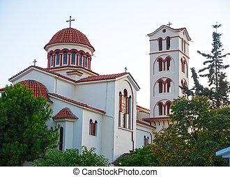 Greek orthodox Church in Paralia