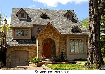 New custom home - New custom built home