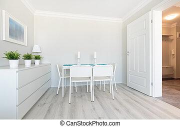 New design dining area
