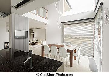 New design two floor house