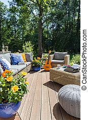 New design villa patio