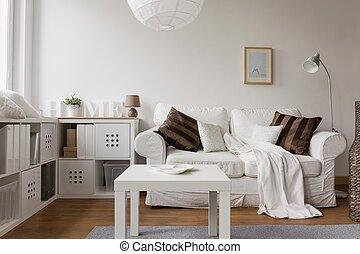 New design white furniture
