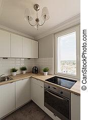 New design white kitchen