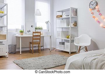 New design white room