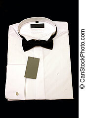 New Dress shirt - New dress shirt ready for wearing with a ...