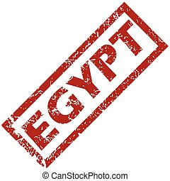 New Egypt rubber stamp