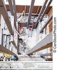 New Elevator Shaft Construction