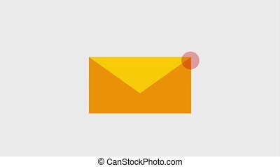 email message envelope icons - new email message envelope...