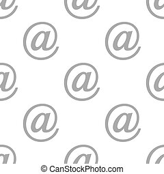 New Email seamless pattern