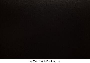 New empty blank black chalkboard