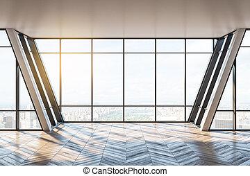 New empty office interior