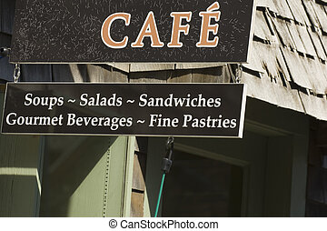 New England Cafe - Seaside cafe in New England\\\'s town of...