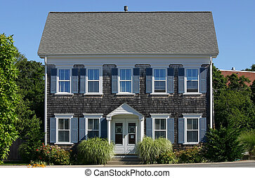 New England House - A traditional Cape Cod house in ...