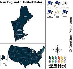 New England of United States
