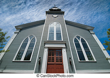 new england, templom