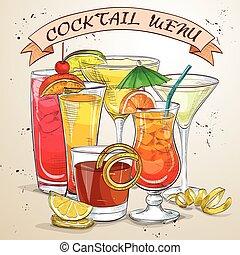 New Era Drinks Cocktail menu