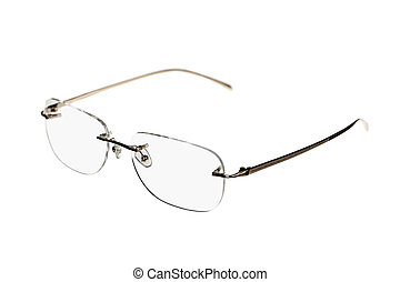 New fashionable glasses. Isolated on a white background.