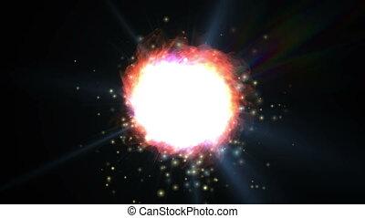 new galaxy explosion