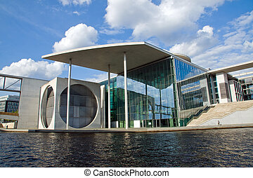 New government building in Berlin -...