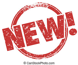 New Grunge Word Stamp Improved Enhanced Product Release -...