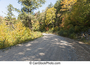 New Hampshire dirt road