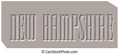 New Hampshire illustration