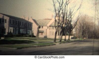 NEW HAVEN, CONNECTICUT - 1958: - Original vintage 8mm home...