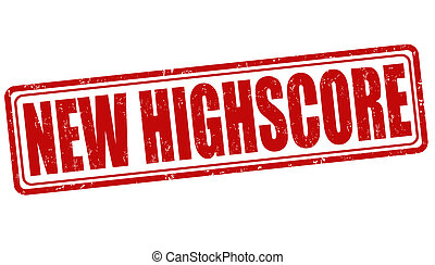 New highscore stamp