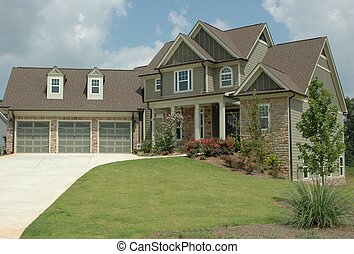 New Home Building - Photographed new home in Georgia....