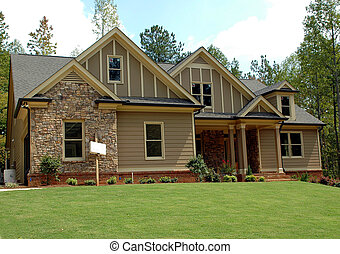 New Home Building - Photographed new home in Georgia