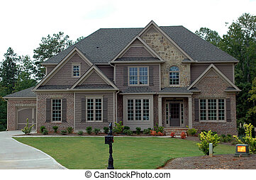 New Home Building - Photographed new home in Georgia.