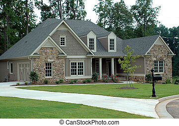 New Home Building - Photographed new home in Georiga.