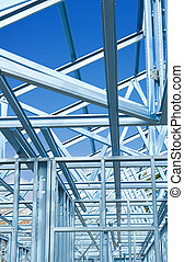 New home construction framing. - New residential ...