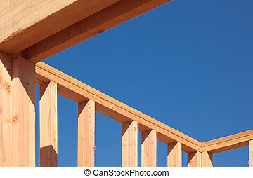 New Home Construction Framing - New Residential Home...