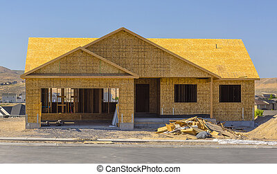 New home construction Utah Valley wood only