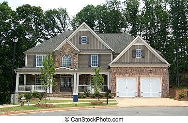 "New home for sale - A brand new home with a blank ""Under..."