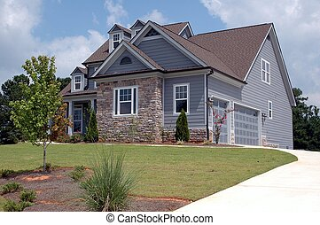 New Home For Sale - Photographed new home for sale in...