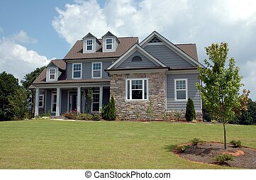 New Home For Sale - Photographed home for sale in Georgia.